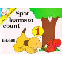 Spot Learns to Count - Colouring Book (Hardcover): Eric Hill