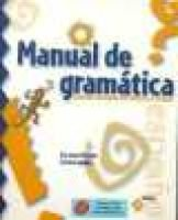 Manual De Gramitica with Atajo CD-Rom - Grammar Reference for Students of Spanish (Book, 2nd edition): Eleanor Dozier