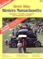 Official Arrow street atlas, western Massachusetts - Berkshire, Franklin, Hampden and Hampshire counties (Paperback): Arrow Map...