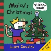 Maisy's Christmas Sticker Book (Book): Lucy Cousins