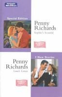 Special Edition Duo - Sophie's Scandal / Lara's Lover (Paperback): Penny Richards