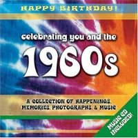 1960s Birthday Book - A Collection of Happenings, Memories, Photographs, and Music (Hardcover): Elm Hill Books