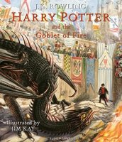 Harry Potter and the Goblet of Fire (Hardcover, Illustrated Edition): J. K. Rowling