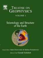 Treatise on Geophysics (Hardcover, New): Gerald Schubert