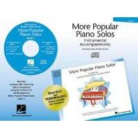 More Popular Piano Solos - Instrumental Accompaniments: Level 1 (CD):