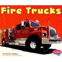 Fire Trucks (Paperback): Carol K Lindeen