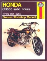 Honda CB650 Fours Owner's Workshop Manual (Paperback, 2nd Revised edition): Martyn Meek