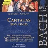 Various Artists - Edition Bachakademie Vol 47 - Cantatas BWV 152-155 (Import) (CD): Helmuth Rilling, Gächinger Kantorei...
