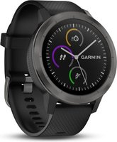 Garmin Vivoactive 3 GPS Smartwatch with Built-in Sports App and Wrist-based Heart Rate (Slate Bezel and Black):
