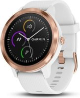 Garmin Vivoactive 3 GPS Smart Watch (White and Rose Gold):