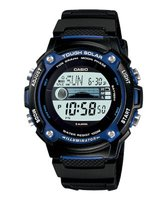 Casio W-S210H-1AV Solar-Powered Watch: