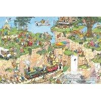 Jumbo Jan van Haasteren The Golf Course Jigsaw Puzzle (1500 Pieces):