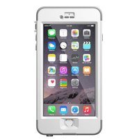 Otterbox LifeProof Shell Case for iPhone 6 Plus (White & Grey):