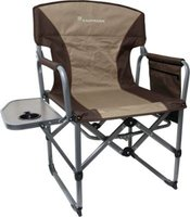 Kaufmann Compact Directors Chair with Steel Table: