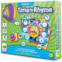 The Learning Journey Grab It!: Time To Rhyme: