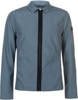Jack and Jones Mens Core Costan Overshirt (Goblin Blue):