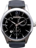 Matt Arend L'Atelier Dual Time Watch (Silver and Black):