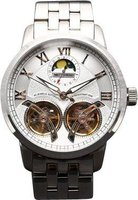 Matt Arend Heritage Dual Escapement Full Moon Watch (Silver):