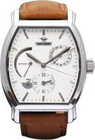 Matt Arend Ma 786 Le Cadre Watch (White and Tan):