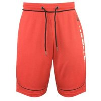 Airwalk Mens Classic Basketball Shorts (Red) [Parallel Import]: