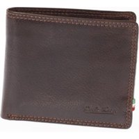 Paolo Rossi Genuine Leather The City Range Wallet (Brown):