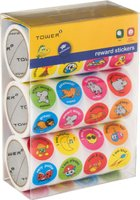 Tower Reward Range - Subject, Behaviour and Motivation Variety Bulk Pack (1800 Stickers):