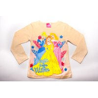 Disney Princesses Long Sleeve Character Tee (Oatmeal):