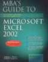 MBA's Guide to Excel 2002 Book/CD Package (Paperback): S. Nelson
