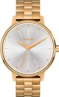 Nixon Ladies Kensington SS Analog Watch (Gold & White):