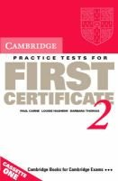 Cambridge Practice Tests for First Certificate 2 Cassette set - Cassette Set (Audio cassette): Paul Carne, Barbara Thomas,...