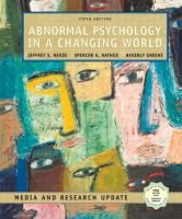 Abnormal Psychology in a Changing World - Media and Research Update (Hardcover, 5 Rev Ed): Beverly S. Greene