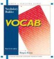 Vocab (Abridged, Standard format, CD, abridged edition): Bergen Evans