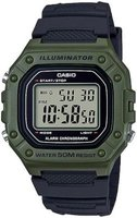 Casio Digital Wrist Watch (Black | Green):