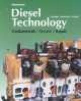 Diesel Technology (Paperback, Workbook): Andrew Norman, John D. Corinchock, Robert Scharff