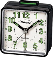 Casio Analogue Alarm Clock (Black):