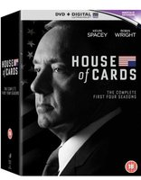 House Of Cards - Season 1-4 (DVD, Boxed set): Kevin Spacey, Robin Wright