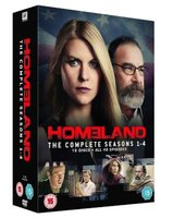 Homeland - Season 1-4 (DVD, Boxed set): Claire Danes, Damian Lewis, Mandy Patinkin, Rupert Friend, Morena Baccarin, David...