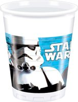 Star Wars - 8 Plastic Cups (200ml):