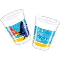 Finding Dory - 8 Plastic Cups (200ml):