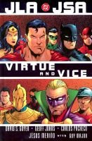 JLA JSA - virtue and vice (Hardcover): David S. Goyer, Geoff Johns, Carlos Pacheco