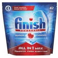 Finish Powerball All In One Max Dishwashing Detergent Tablets (Regular) 42's: