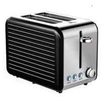 Ultimum Stainless Steel Toaster (Black):