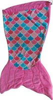 Meerkat Kiddies Mermaid Sleeping Bag (Pink):