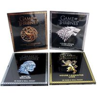 Game Of Thrones Press-out Mask Books - 4 X 3d Masks & Wall Mounts: Wintercroft, Steve