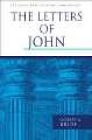 The Letters of John (Hardcover): Colin G. Kruse