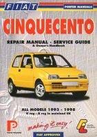 Fiat Cinquecento Repair Manual - Service Guide (Paperback): Lindsay Porter, Michael Gascoigne