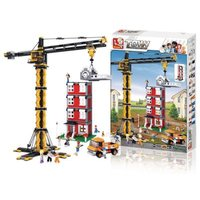 Sluban Town Series - Tower Crane (1461):