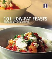 101 Low-Fat Feasts - Tried and Tested Recipes (Paperback, illustrated edition): Orlando Murrin