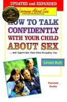 How to Talk Confidently with Your Child about Sex --and Appreciate Your Own Sexuality Too - Parents' Guide (Paperback,...
