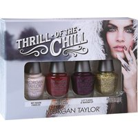 Morgan Taylor Professional Nail Lacquer Thrill Of The Chill MINI (4 Pack):